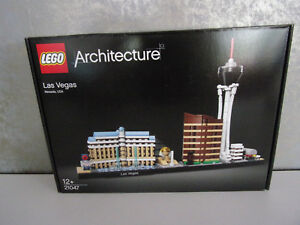 Lego Architecture 21047 Las Vegas (nevada, Usa) - Neuf Et Emballage D'origine