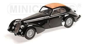 Minichamps-100120421-Alfa-Romeo-8c-2900-B-lungo-1938-negro-1-18-nuevo-embalaje-original