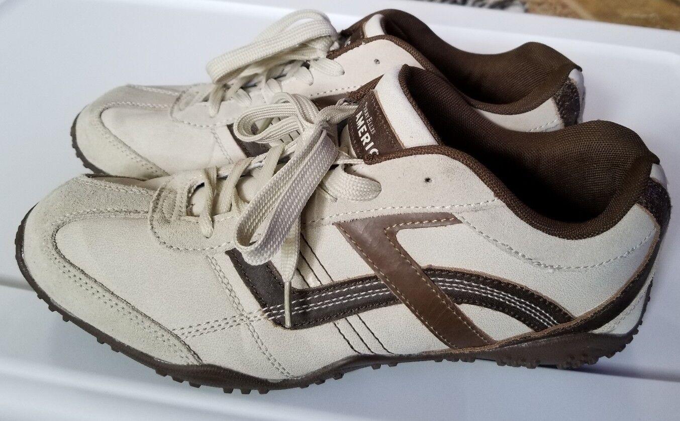 PERRY ELLIS AMERICA Vault brown tan  Sneaker Tennis shoes 11.5 Medium