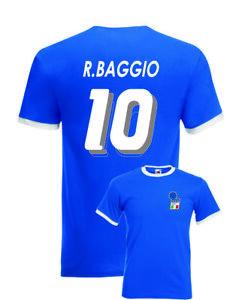 Roberto-Baggio-Italy-No-10-USA-94-Mens-Retro-Football-Ringer-T-Shirt