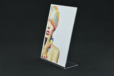 Name Place Card Price Menu Holder Portrait DEFA7P 10 x A7 Angled Poster