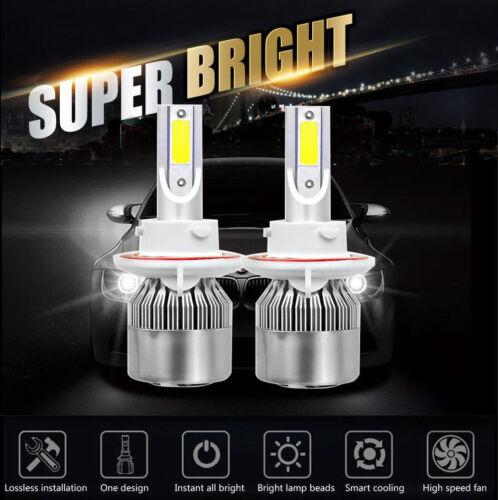 2Pcs H13 9008 LED Headlight Conversion Light Bulb Kit For Ford Mustang 2005-2012