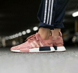 Details about ADIDAS NMD R1 GLITCH RAW PINK TRACE BOOST WOMEN BY9648 NEW