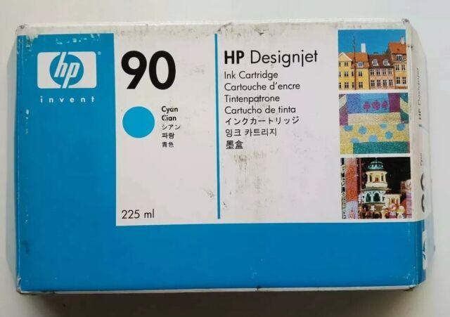 HP 90 Cyan Genuine Ink Cartridge C5060A or HP Designjet 4000 4000ps 4500 4500mfp