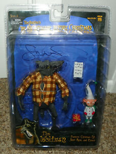 Neca-Series-3-Nightmare-Before-Christmas-Wolfman-Glenn-Walters-Signed-Figure-NBC
