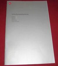 dachbodenfund prospekt katalog foto/zubehör alt werbung reklame leica c 123 2002