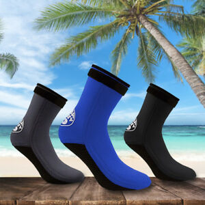 Unisex-Adult-3mm-Neoprene-Diving-Scuba-Surfing-Snorkeling-Swimming-Socks-Boots