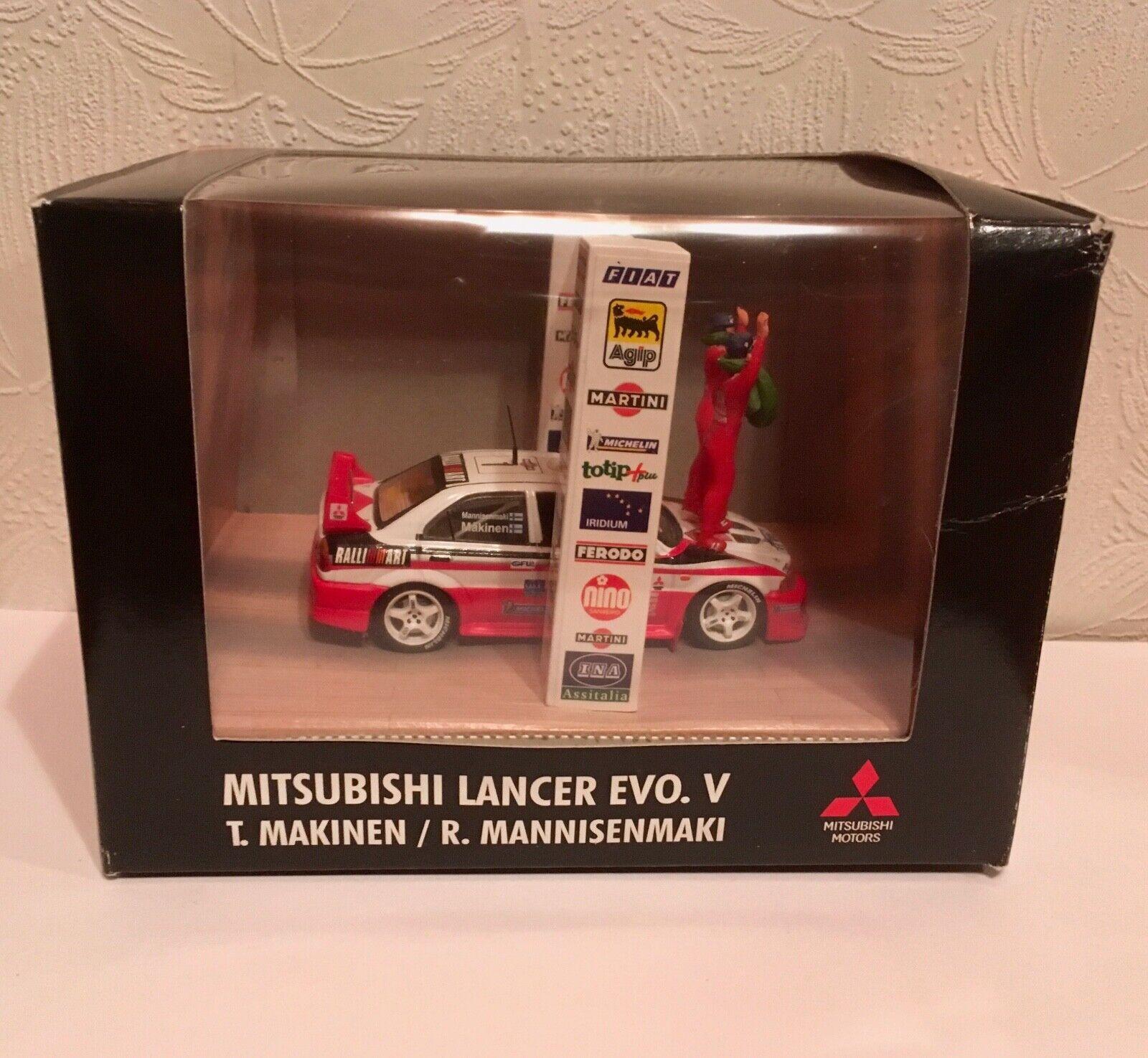 1 43 Mitsubishi Lancer Evo V (T. Makinen uomonisenmaki R.) World Rtuttiy Champion'98