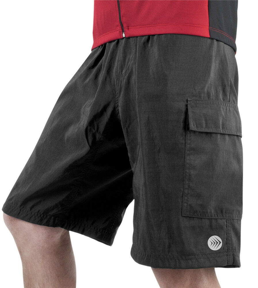 Men's Cargo Mountain Bike Shorts MTB Biking Cycling Bike Short 8 Inch Inseam
