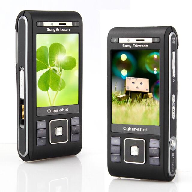 New SONY ERICSSON 3G C905 8MPix Wi-Fi GPS CELL PHONE Unlocked BLACK Gift EW