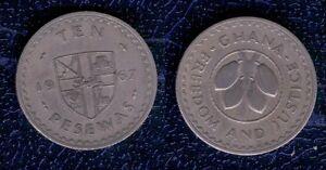 GHANA-10-PESEWAS-1967-cu-ni-BB-ten