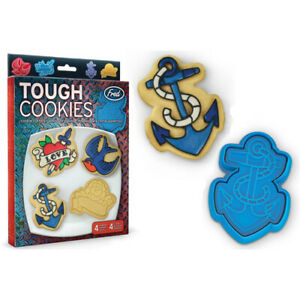 Tattoo-Tough-Cookie-Cutters-Shapers-Sweet-Ink-Anchor-Swallow-Heart-Rockabilly