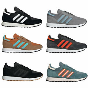Adidas-Original-Forest-Grove-Baskets-Hommes-Bas-Chaussures-de-Sport
