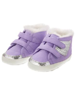 Gymboree Purple \u0026 Silver Sparkle
