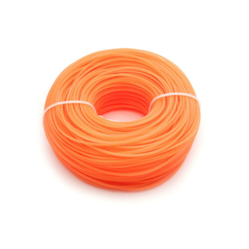 90 Meter Mähfaden Ersatzfaden 5-Kant 1.6mm Trimmerfaden Für Motorsense Orange