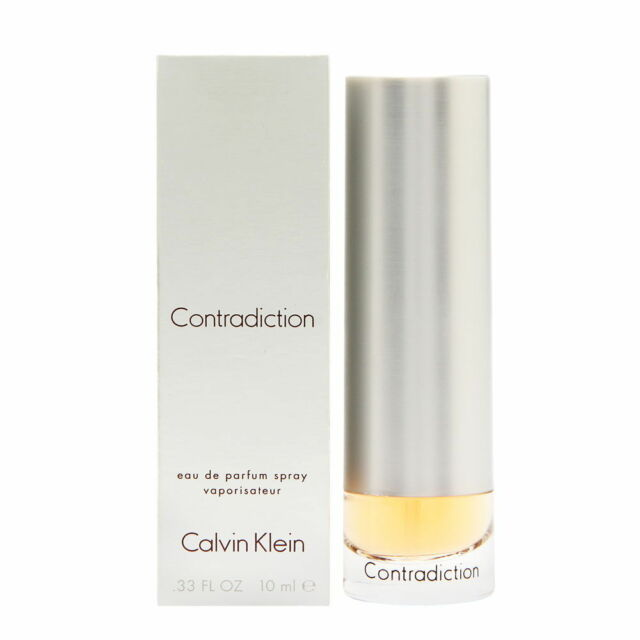 Contradiction by Calvin Klein for Women 0.33 oz EDP Mini Spray Brand New