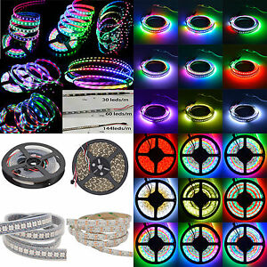 WS2812B-5050-RGB-Dream-Color-30-60-144-LED-Strip-Light-5V-Individual-Addressable