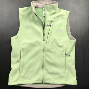 4a6fc929d Details about Women's The North Face Windwall Full Zip Fleece Vest size  Small
