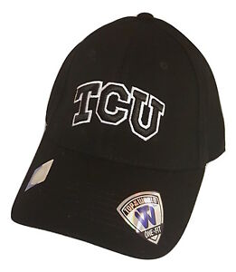 Details about Texas Christian TCU Horned Frogs One-Fit Logo Cap Top Of The  World Headwear 86fe71908b9