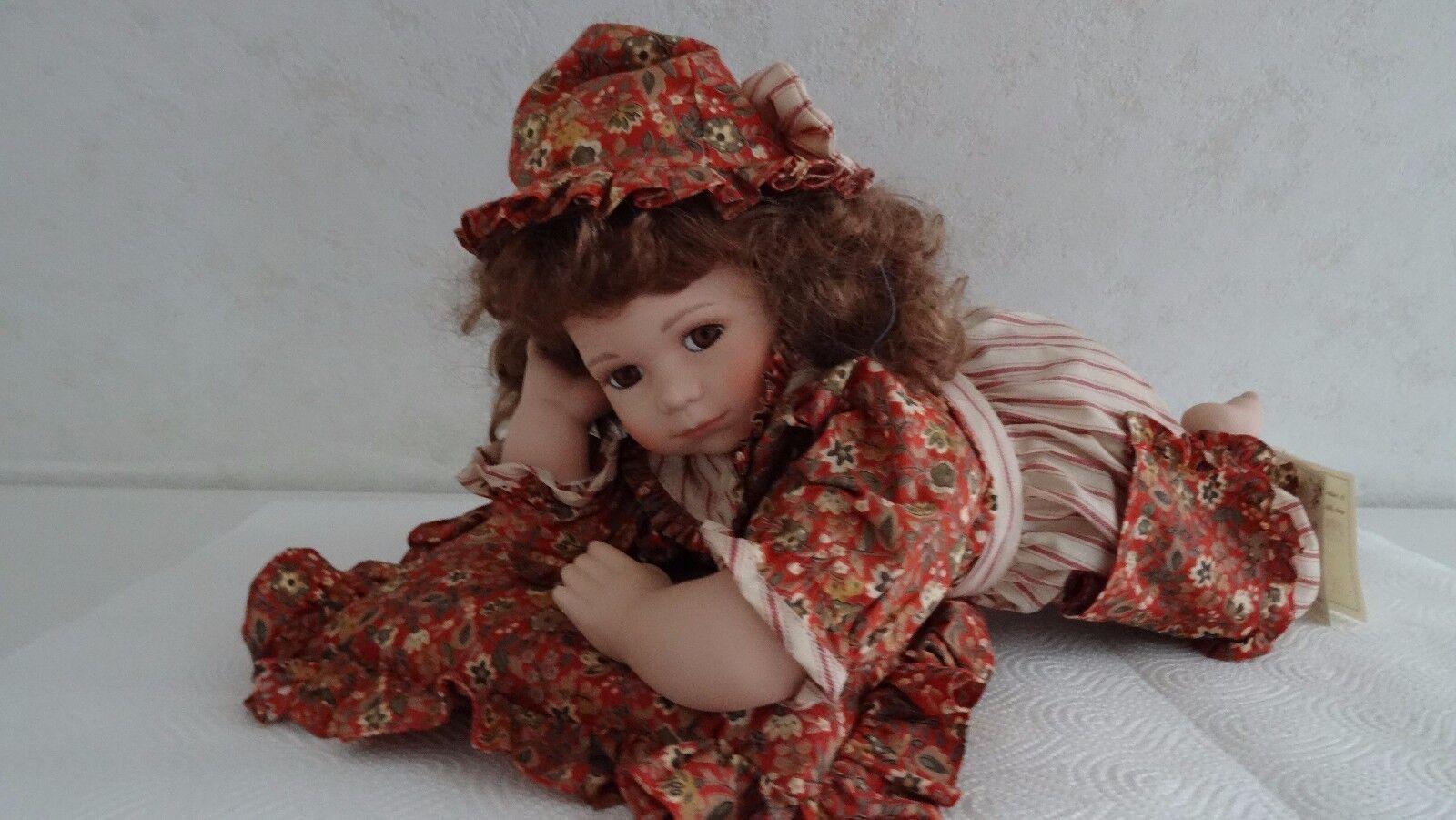 Porzelan Puppe Cassie von The House of Valentina