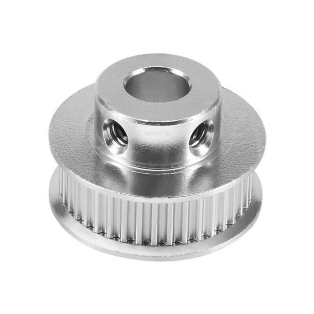 Aluminum GT2 36 Teeth 8mm Bore Timing Belt Pulley Flange Synchronous Wheel  Q3I8