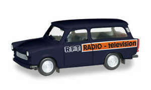 Herpa-095167-Trabant-601-Universal-034-RFT-Television-034-Model-1-87-H0
