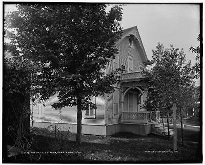 Charlevoix 1890-1901 The Belvedere Michigan Vintage Photograph 11 x 17 Reprint