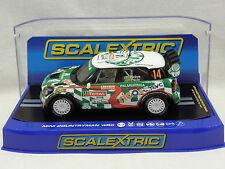 Scalextric 3523 Slot Car Mini Countryman WRC N°14 Rallye Monte Carlo 2012