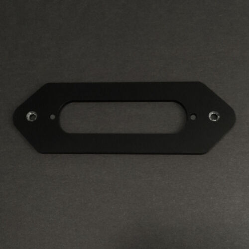 P90 Dog Ear to Single Coil BLACK CONVERSION GUITAR PICKUP MOUNTING RING