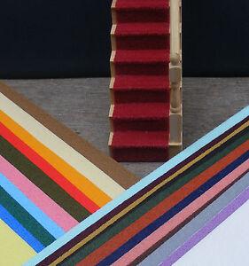 1:12 Scale Autocollante Tumdee Maison De Poupées Miniature Escalier Tapis Multi Couleurs-afficher Le Titre D'origine