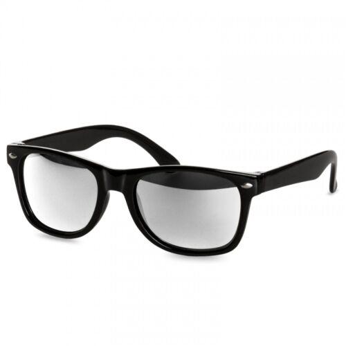 CASPAR SG034 Kinder RETRO Design Sonnenbrille bunte Gläsern 100/% UV400 Schutz