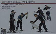 AFV CLUB 35092 WWII German Tank Crew Hunting 1943-Late Figuren in 1:35