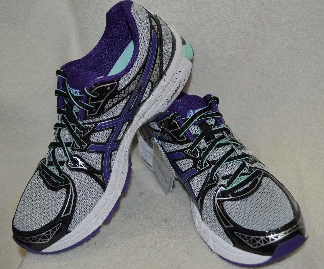 ASICS GEL-Exalt 2 Gray/Purple/Beach Women's Running Shoes - Comfortable The latest discount shoes for men and women