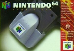 N64-Rumble-Pak-Nintendo-Brand-Great-Condition-Fast-Shipping