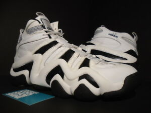 Details about 2007 ADIDAS CRAZY 8 WHITE BLACK KOBE BRYANT KB 1 ULTRA BOOST 674103 NEW 12.5