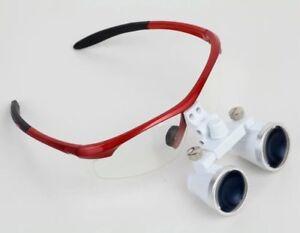 3-5X-420mm-Dental-Binokularlupen-Kopflupe-Binocular-Loupes-Magnifier-Magnifying
