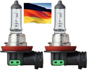 Flosser Rally H11 90W 12110 Two Bulbs Head Light Low Beam Replace High Wattage