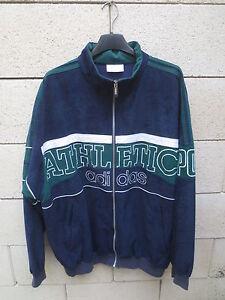 Bleu Jacket Vintage Sport Adidas Veste Athletic Tracktop Marine Pro wXUxq6qf8