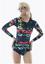 Long Sleeve Swimwear Women Swimsuit One Piece Swim Bodysuit Beach Bathing Suit