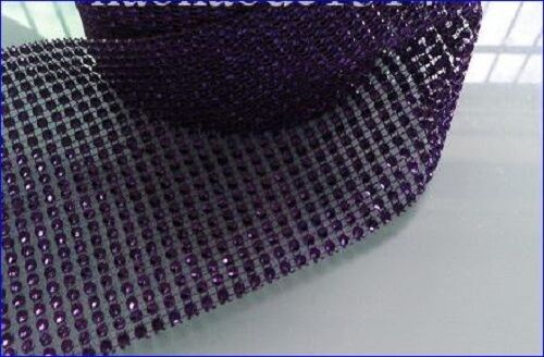 1M Crystal Diamante Sparkly¨*:·.effect Mesh Ribbon    SEE VIDEO