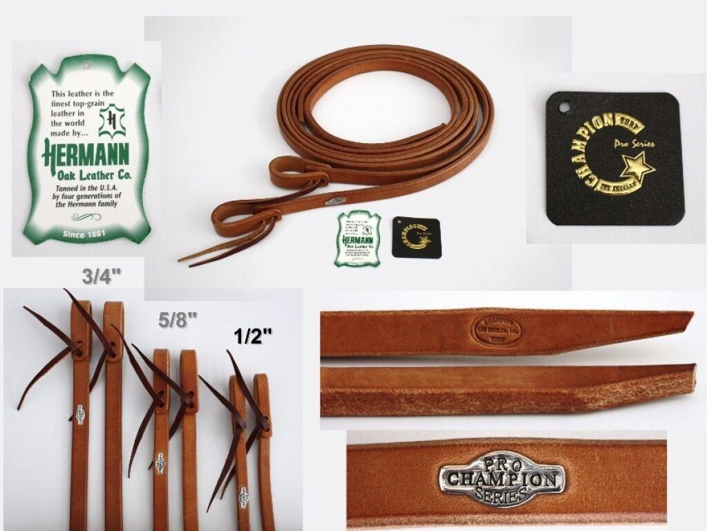 California Pro Elite Series Premium Harness rossoini 16mm Western Briglia SPLIT Reins