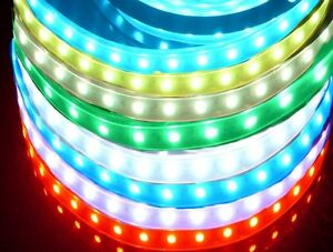 led rgb lichtband strip flex band au enleuchte mit fernbedienung dekoleuchte ebay. Black Bedroom Furniture Sets. Home Design Ideas