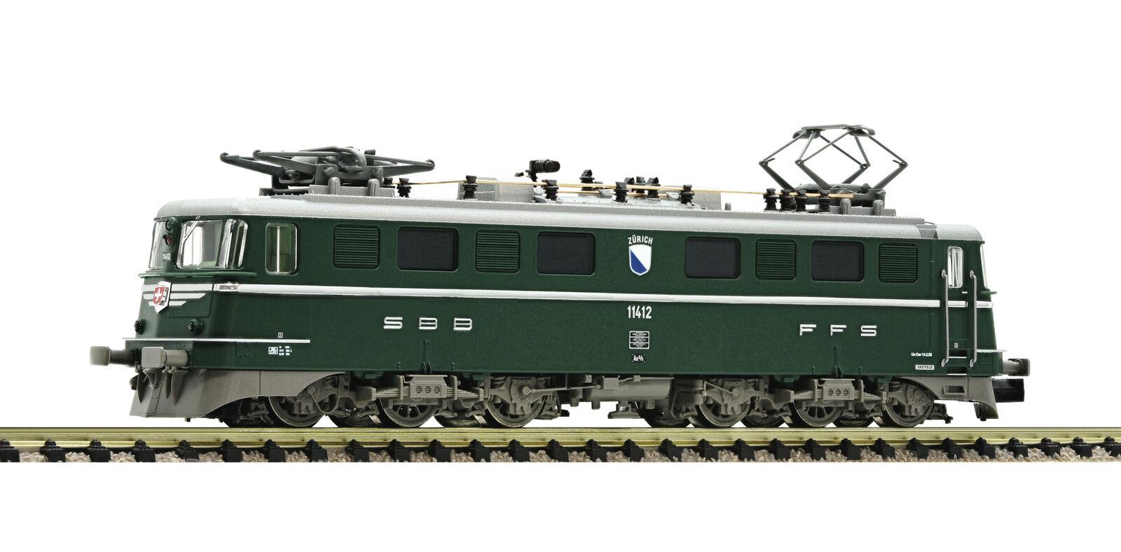 Fleischmann 737291 N elektrolokomotive AE 6/6  kantonslok   Verde , SBB DCC SOUND