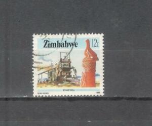 S9313-ZIMBAWE-1985-MAZZETTA-DI-5-SELEZIONE-MINERALI-VEDI-FOTO
