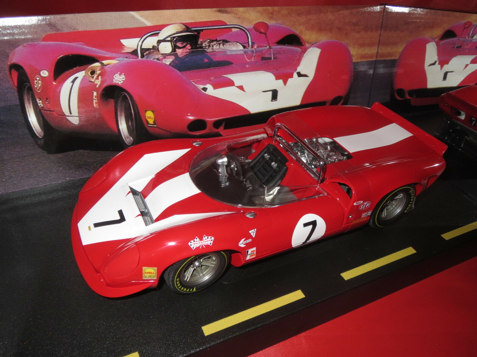 GMP 1967 John surtees  7 team surtees Lola spyder limousine Edition 1500 1 18 OVP