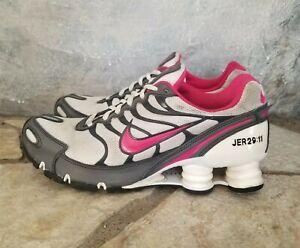 Women-039-s-Nike-Shox-Sz-8-Turbo-VI-iD-Athletic-Shoes-326907-992-Grey-Black-Pink