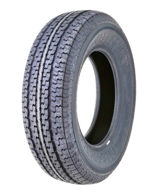 MILLION PARTS Set of 4 ST225//75R15 ST225//75-15 Radial Trailer Tires 8PR Load Range D