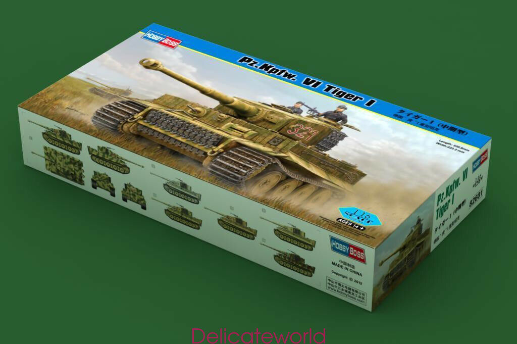Hobbyboss 82601 1 16 German Heavy Tank Pz.Kpfw. VI Tiger I