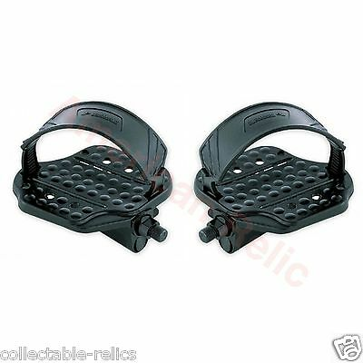Exercise Bike Pedals Adjustable Straps 1/2 Stationary Gym Bicycle VP420 3534