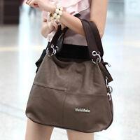 NEW Fashion Ladies Women Tote Shoulder Handbag Leather Bag Messenger Large Bag